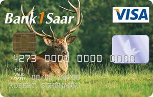 Visa JägerCard Kreditkarte
