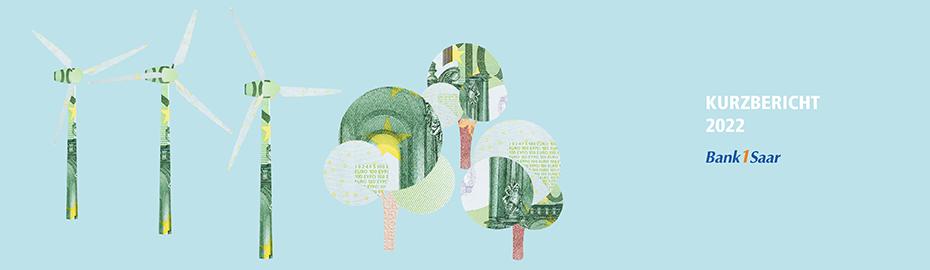 Geschäftsbericht der Bank 1 Saar